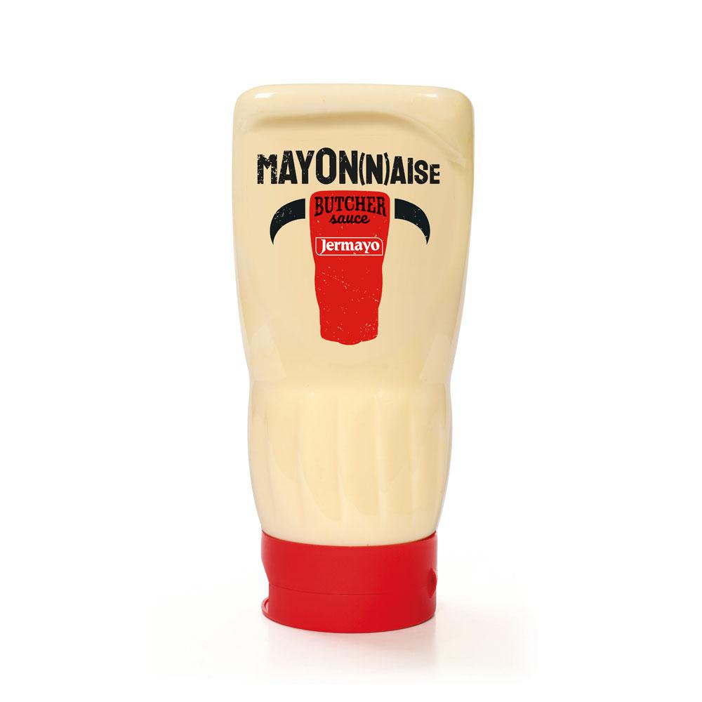 Mayonnaise - 6 x 400ml Squeezer Butcher - Sauces froides