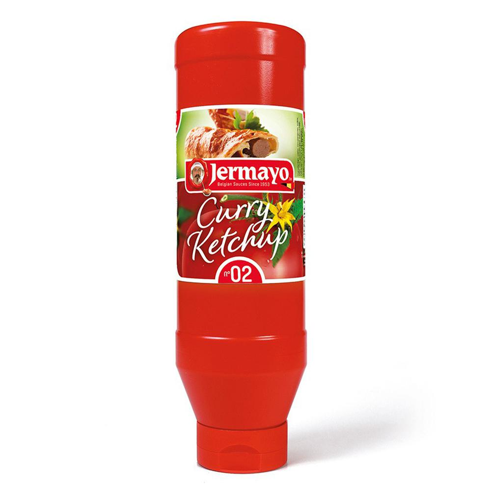 Curry ketchup - 6 x tube d'1L - Sauces froides