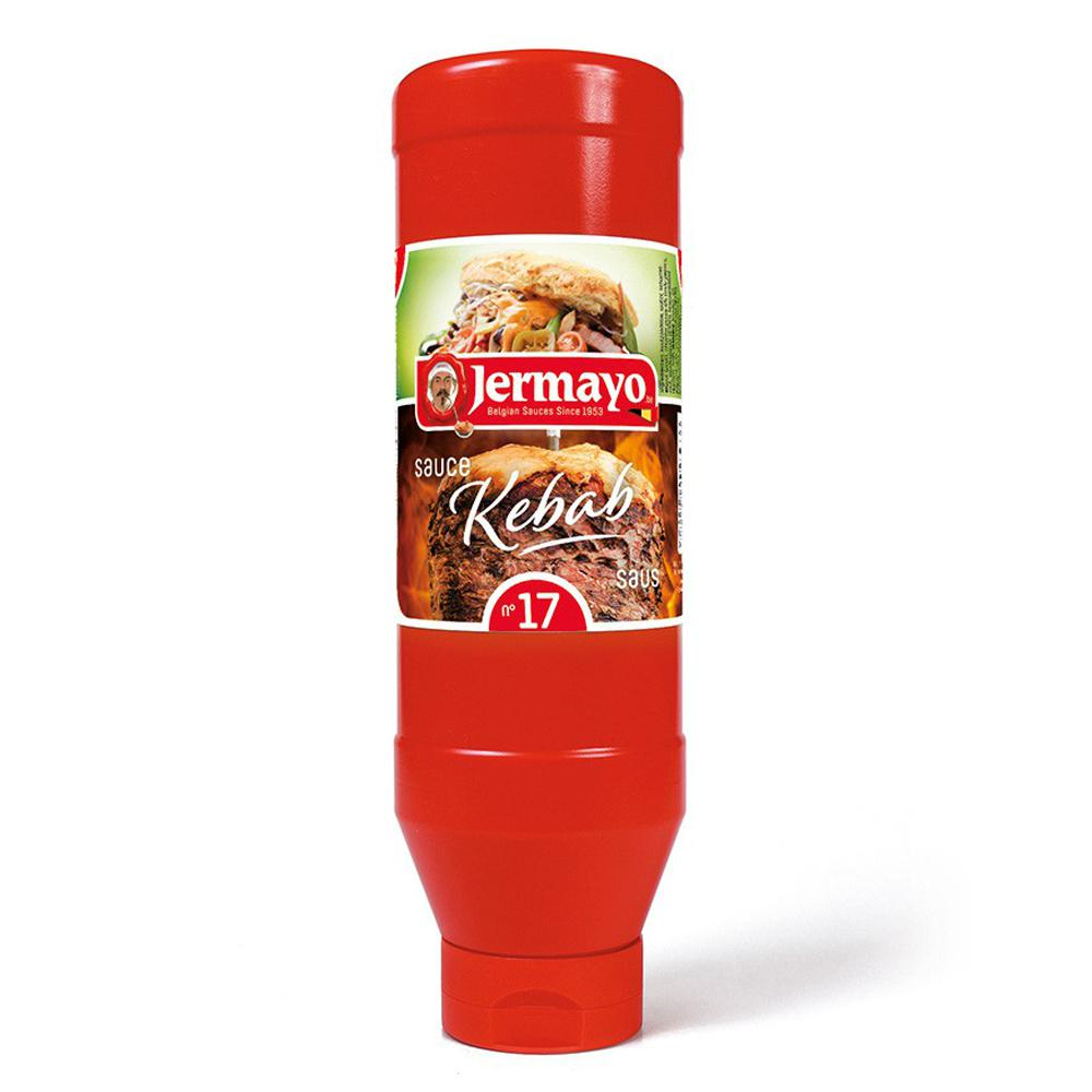 Kebab - 6 x tube d'1L - Sauces froides